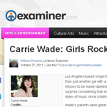 Girls Rock! LA Examiner | Carrie Wade