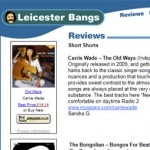 Leicester Bangs | Carrie Wade Review